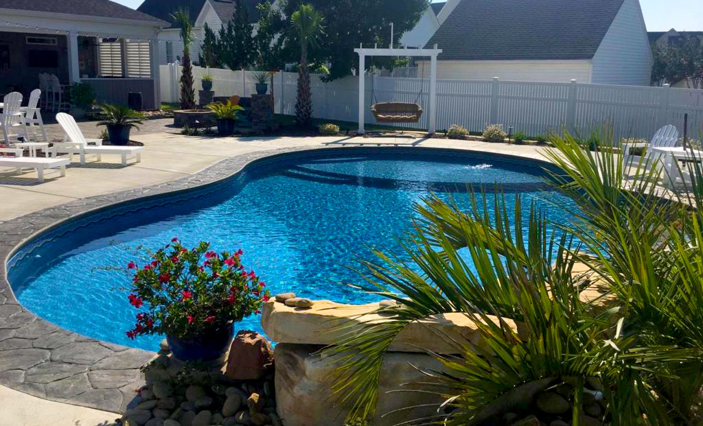 Custom Swimming Pools, Heated & Exercise Pools Wilson, NC